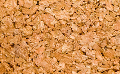 Natural cork background