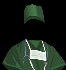 Surgeon's uniform