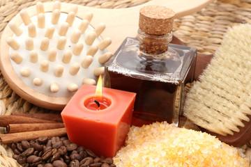 coffee and cinnamon bath