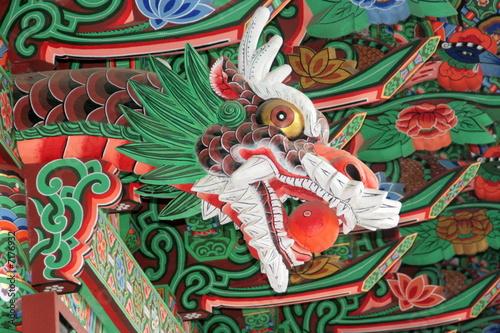 Poster Drachenkopf