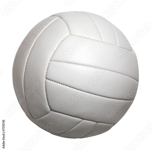 Staande foto Golf volleyball isolated