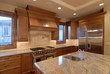 Kitchen with Granite Counter Top