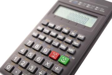 Calculator with emoticons