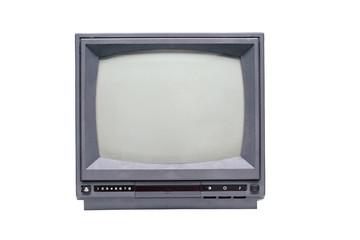 Retro monochrome TV set