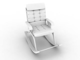 Armchair-rocking chair