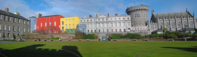 chester beatty library e Dublin Castle panoramica