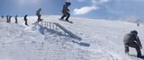Fototapeta Snowboarding Sequence