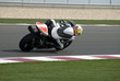Постер, плакат: Superbike racing on track day