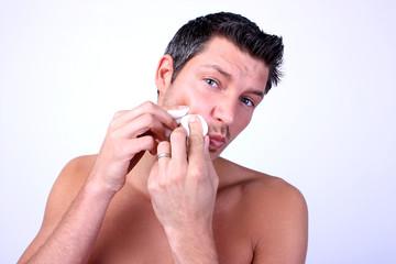 Mann Kosmetik Watepads Mitesser Cosmetic man beauty