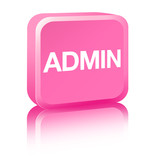 Administrator - pink poster