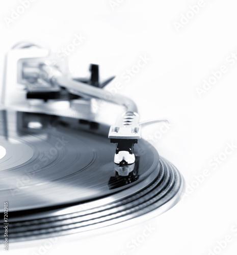 Gramofon w ruchu