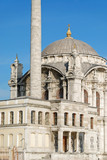 Baroque Style Mosque, Istanbul, Turkey poster