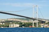 Bosphorus Bridge, Istanbul, Turkey poster