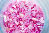 Pink powder eyeshadow poster