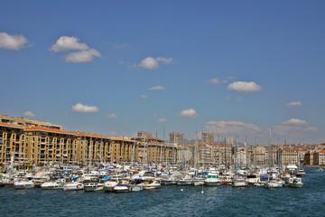 Mooring line  in Marseilles