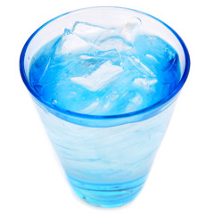 Blue Ice Water