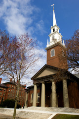 Memorial Church at Harvard University, Cambridge, Massachussets