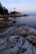 point atkinson lighthouse after sunset