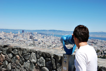 Looking on San Francisco