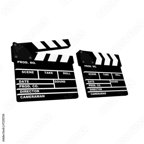 3d clapboards open/closed