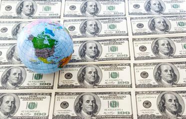 globe and dollars