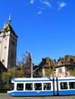 tram bleu - 7250940