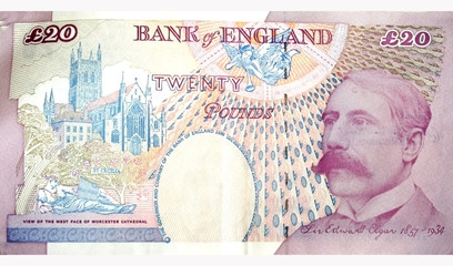 Twenty Pounds Note back side