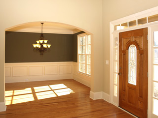 Luxury Stained Glass Door with Arch 1