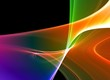 Colorful 3D rendered fractal (fantasy,abstract background)