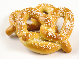 Two Soft Pretzels