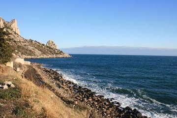 Crimea. Black sea.