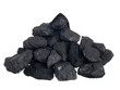 canvas print picture - Pile of coal