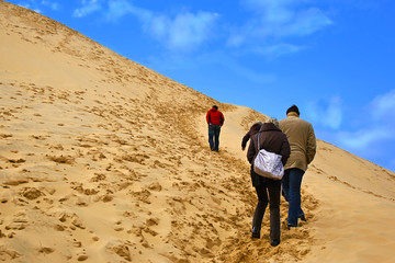 Persons in the dune