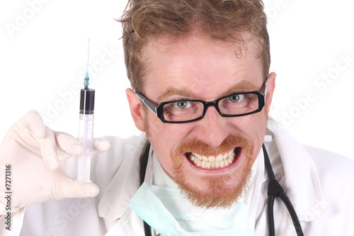 doctor with injection