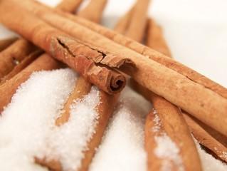 Cinnamon Sticks and Sugar