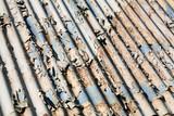 weathering corrugated iron poster