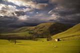 Fototapety Landscape in Peak District. England