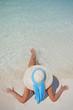 Mujer Tumbada en la Playa