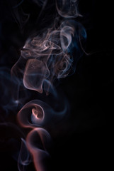 Abstrat smoke pattern