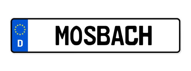 kennzeichen mosbach