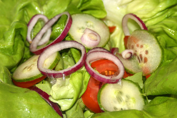healthy vegetables salad