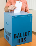 Election - Casting Ballot poster