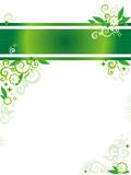 Banner, letterhead or website header and corner poster