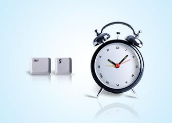 Saving Time, computer saves time