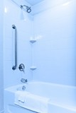 Accessible bathtub and shower poster