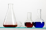 Chemical Flasks poster