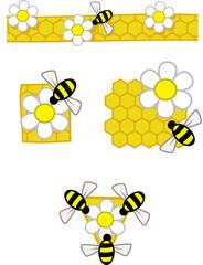 Bee patterns