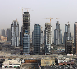 Fast Paced Building Construction In Dubai