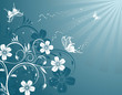 Blume hintergrund, fleur fond, flower background, vector