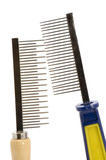 hairbrush for animal close up poster